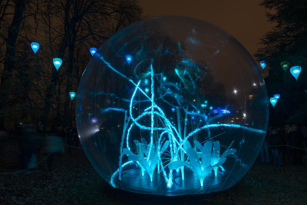 Les sphères - Fête des Lumières 2014 Lyon
