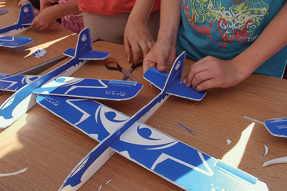 Kits atelier pour la fabrication de planeur