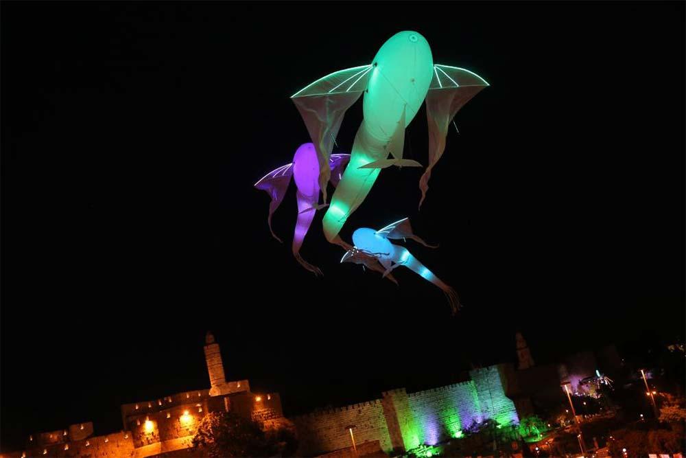 Les Carpes - Luminéoles à Jérusalem