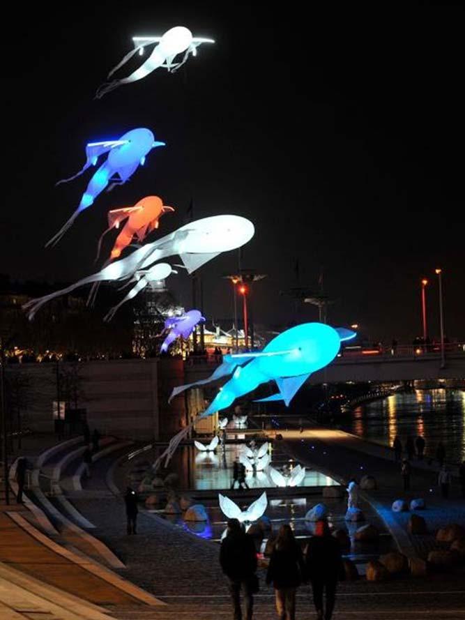 Fête des Lumières de Lyon - du 8 au 11 décembre 2012