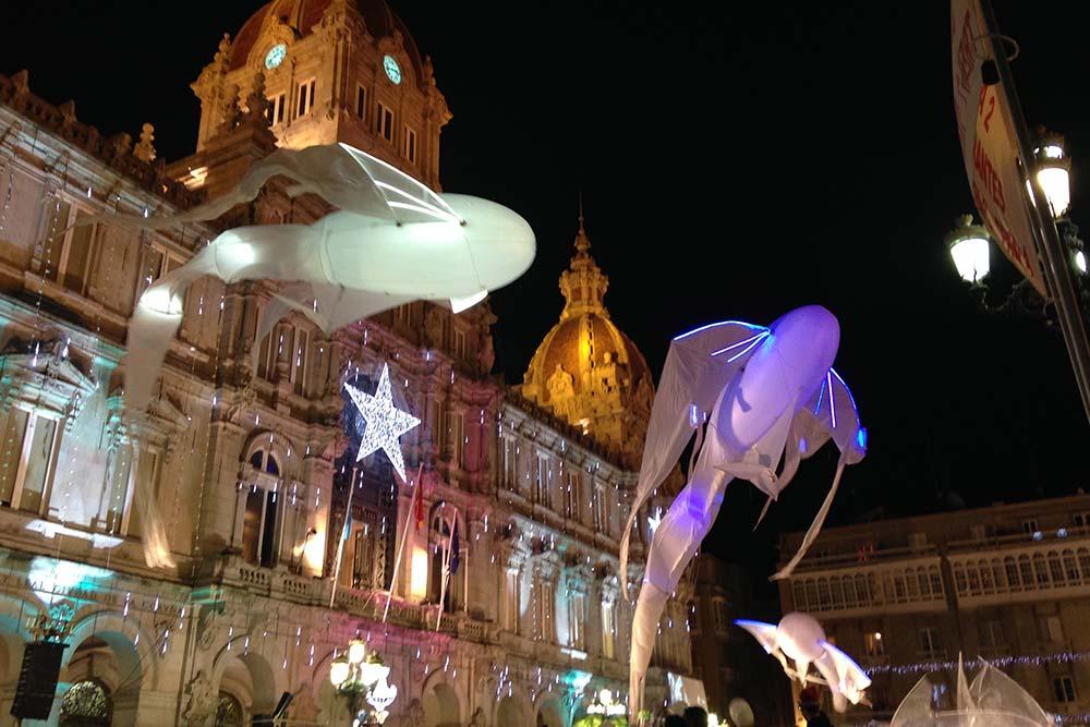 Luminéoles - Parade Coruna en Espagne