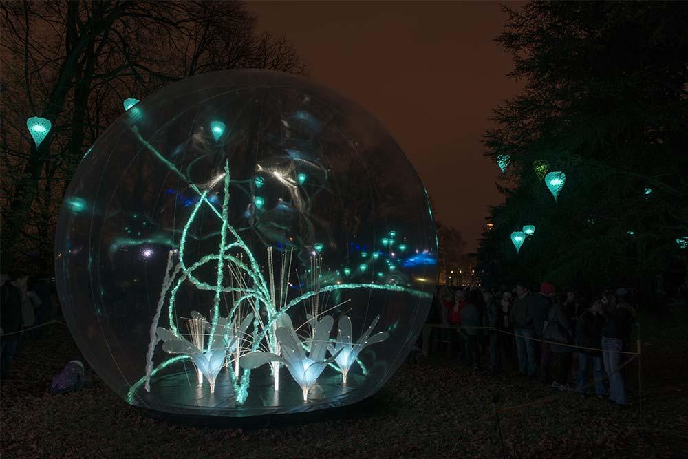 Sphères - Jardin d'Hiver à Lyon