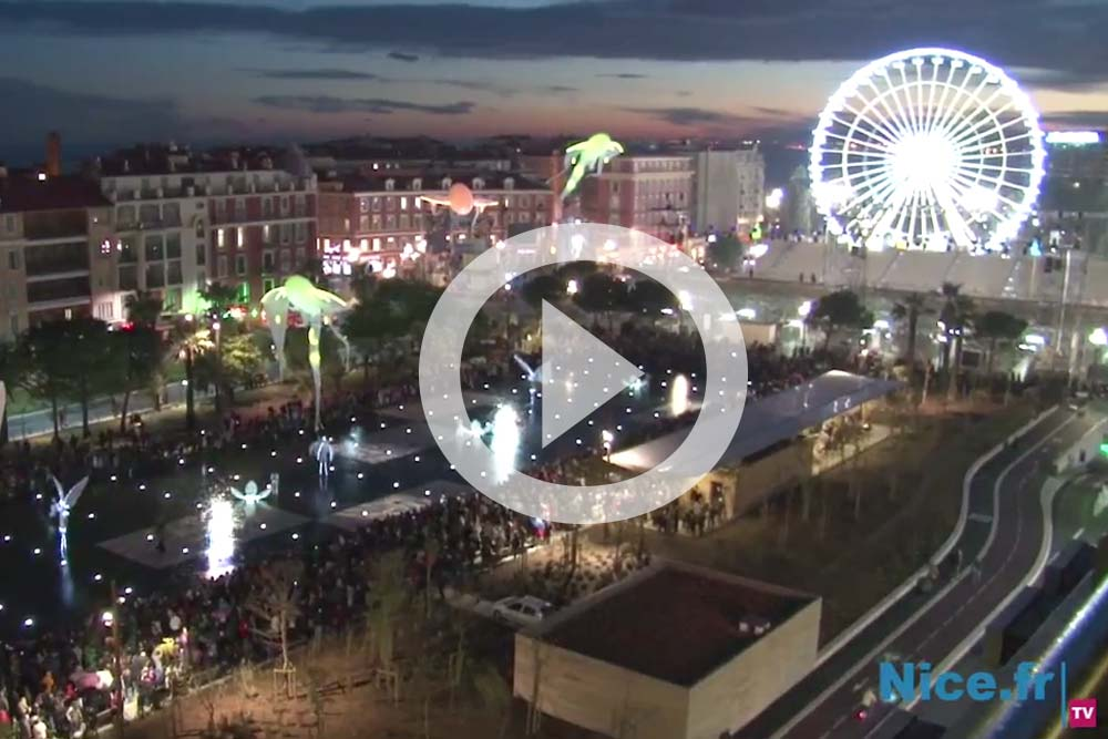 Visionner les Luminéoles à Nice