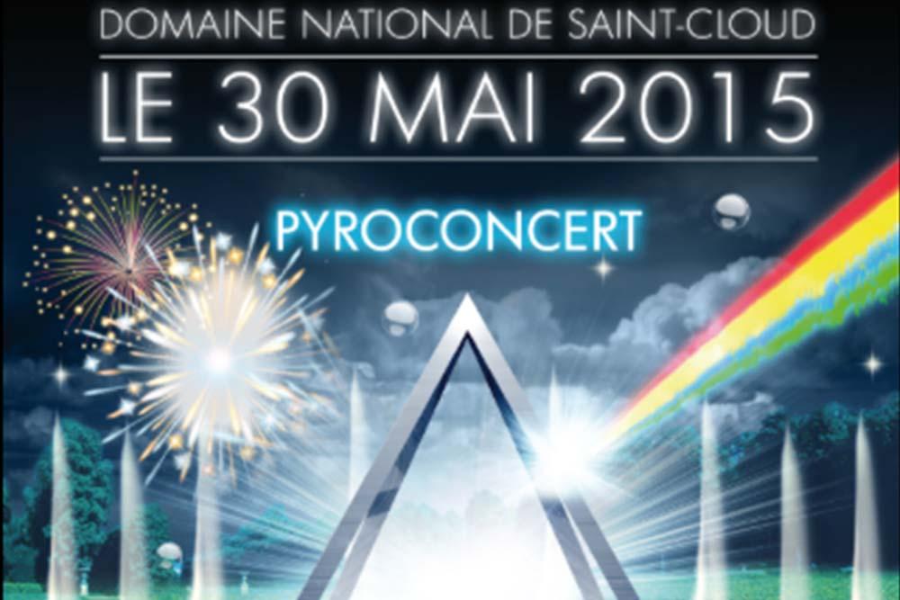 Pyroconcert au Domaine National de Saint Cloud