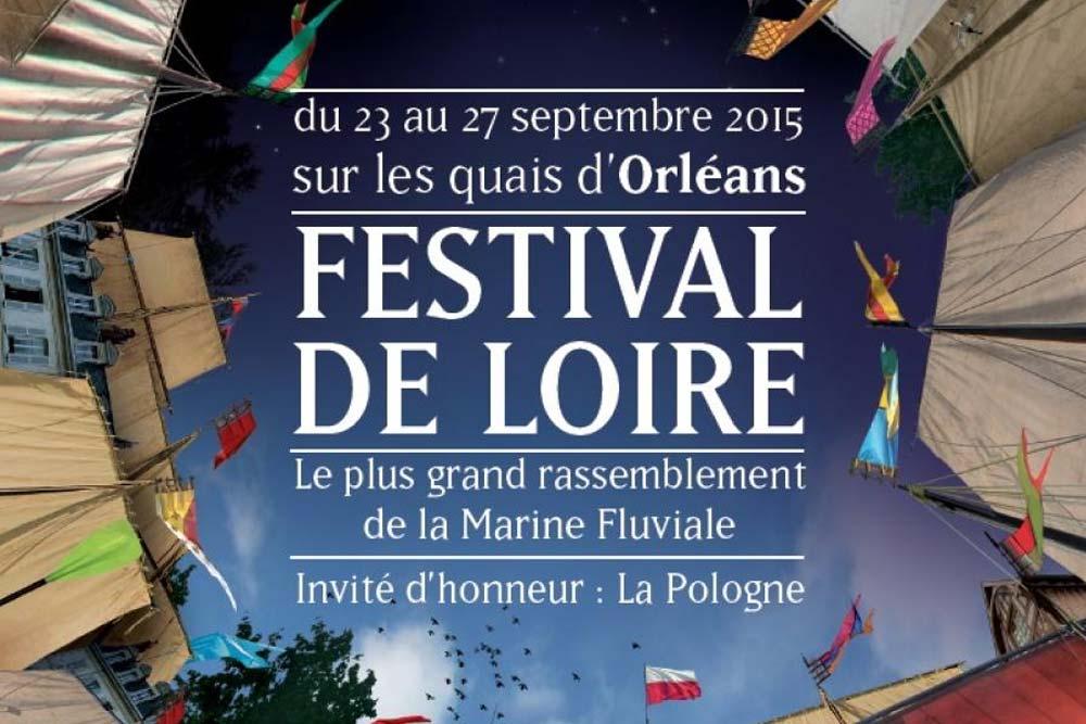 Spectacle nocturne au Festival de la Loire 2015